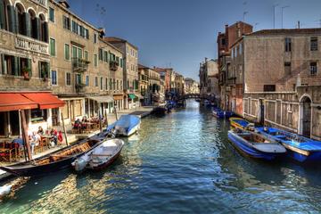 Croisière sur le canal à Venise...