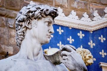 Slipp køen: Renessansefottur med liten gruppe i Firenze med...