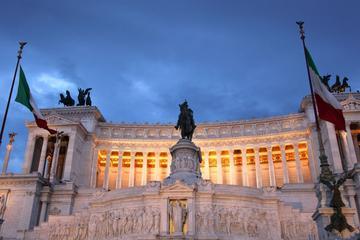 Visite en petit groupe à Rome en monospace et à pied avec café italien