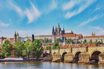 Car and Walking Tour in Prague including River Cruise