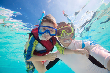 Aventure de plongée avec tuba à Key West