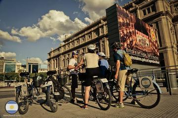 Excursão de bicicleta pela arquitetura de Buenos Aires