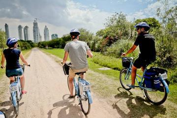 Excursão de bicicleta pelo coração da cidade