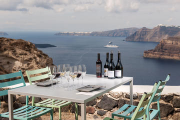 Private Santorini Wine Roads Tour with Wine Tastings