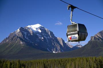 Telecabina turística en el lago Louise