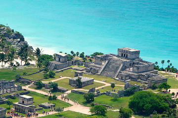 4x1 Tour: Tulum Ruins and Beach Break, Coba and Cenote