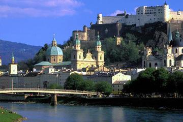Excursão de um dia para grupos pequenos pela cidade de Salzburgo...