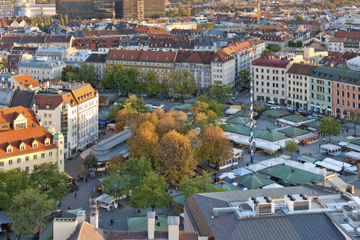 Führung durch den Viktualienmarkt in München