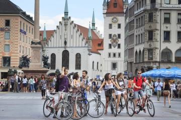 Private Fahrradtour durch München