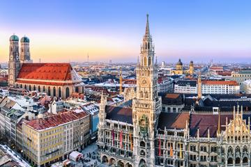 Spaziergang durch die Altstadt von München