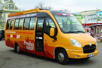 City tour em ônibus com várias paradas: linha centro, linha...