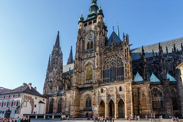 Prague Castle in detail