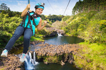 Umauma Falls and Zipline Experience