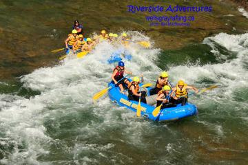 Day Trip Riverside Rafting on Clearwater River in Wells Gray Park near Clearwater, Canada