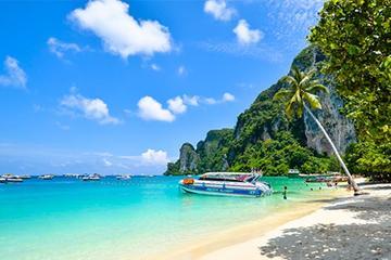 Phi Phi Half Day Tour Speed Boat