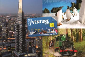 Melbourne-sevärdhetskort inklusive Melbourne Zoo, hoppa på/hoppa ...