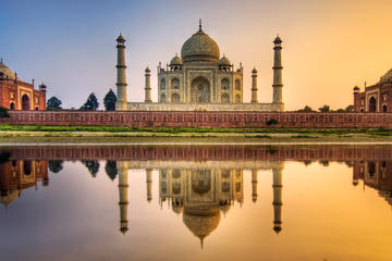 Tajmahal (One of 7 Wonders of World) Admission Ticket With Optional Transfer