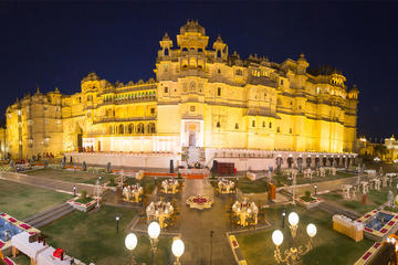Udaipur City Palace Museum Admission Ticket with Optional Transfer