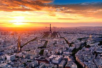 Ingresso de entrada para o mirante no 56º andar da Torre Montparnasse