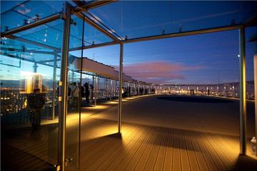 Mirador del piso 56 de la Torre Montparnasse
