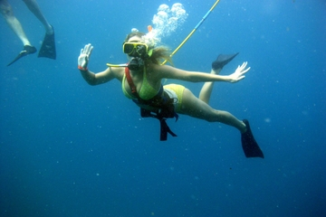 Aventuras de Snuba nas Bahamas em Nassau