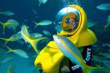 Aventure sous-marine à Nassau, aux Bahamas
