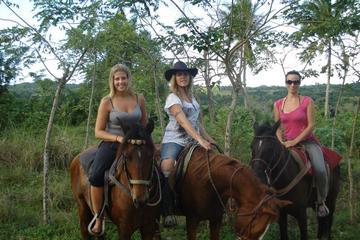 Puerto Plata todo el día a caballo...