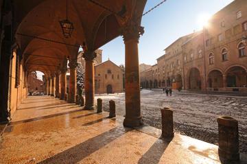 Excursão privada: Excursão a pé pelos porticoes de Bolonha