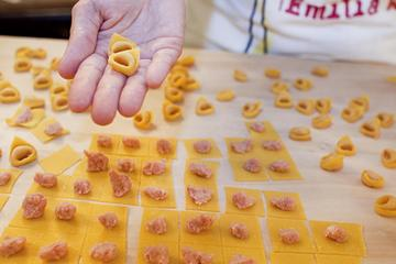 Pasta Making Class in Bologna