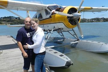 Romántica excursión en hidroavión con...