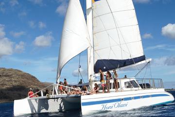Crucero al atardecer por Waikiki