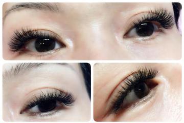 Beautiful Eyelash Extension Treatment...