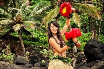 Luau-show med lavalegender på Hawaiis Big Island