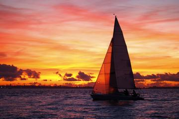 Cruzeiro de catamarã ao pôr do sol em Aruba