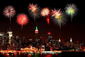 New York City New Year's Eve Circle...