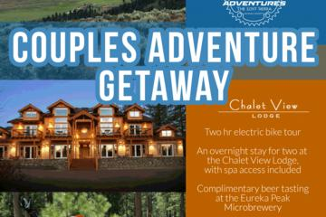Couples Last Minute E-Bike Getaway