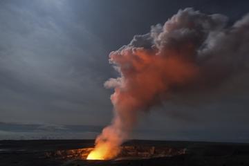 Visite en petit groupe du parc national des volcans au crépuscule