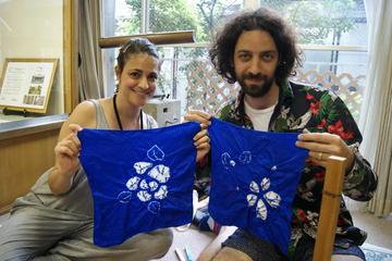 傘巻き絞り・縫い締め絞り:袱紗コース