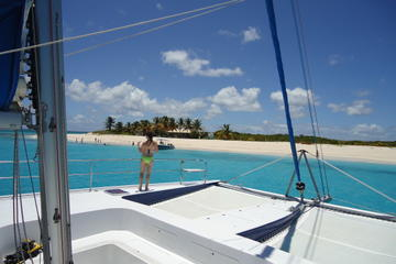 Prickly Pear and Anguilla Sail from...
