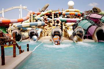 Dubai Yas Waterworld and Ferrari...