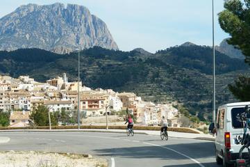 Tour durch Benidorm mit dem Fahrrad