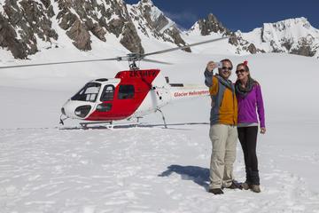 Vuelo en helicóptero a los glaciares...