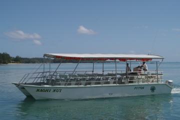 Croisière sur le lagon de Moorea et pique-nique sur l'île