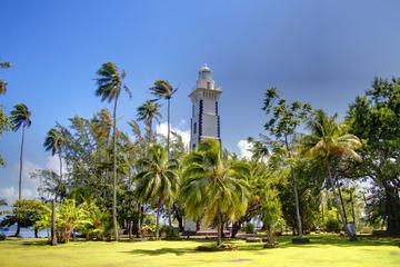 Tour de l'île de Tahiti, avec la pointe Vénus, les grottes de Maraa...