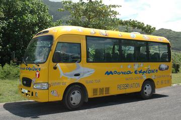 Traslado compartido para salidas: del hotel al aeropuerto de Moorea o...