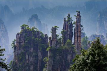 2-Night Zhangjiajie Avatar and Tianmen Mountain Tour From Beijing by Air