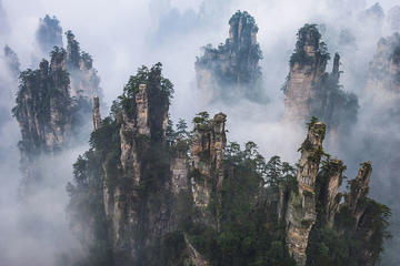 Private 3-Day Tour Combo Package:Zhangjiajie Avatar and Tianmen Mountain and Grand Canyon Glass Bridge