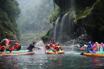 Private Day Trip of Mengdong River Rafting in Zhangjiajie