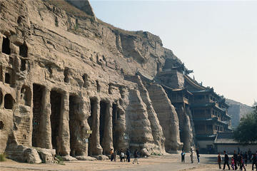 Private Datong Yungang Grottoes Day...