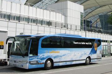 Transfert de départ partagé: la gare centrale de Munich à l'aéroport...